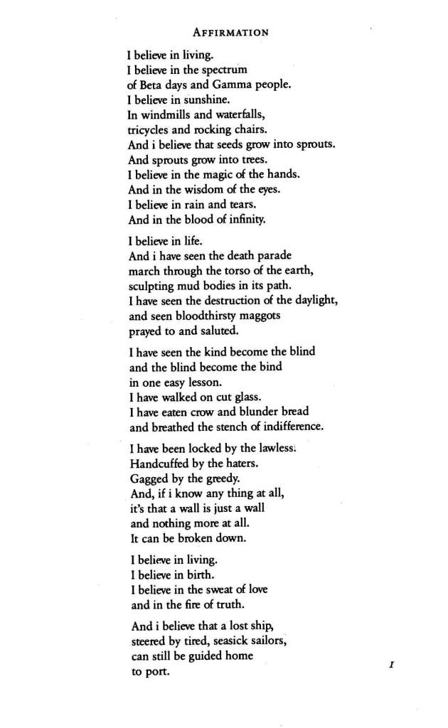 assata shakur poem