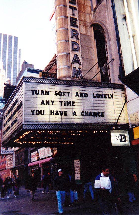 Jenny Holzer soft and lovely