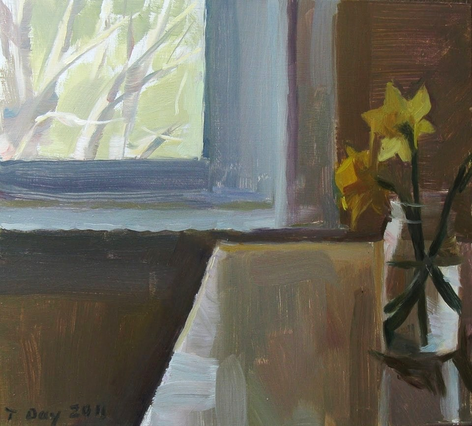 Taryn Day Daffodils in a Jar 2011
